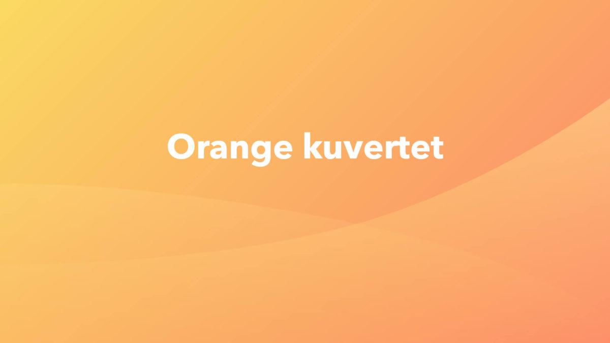 Orange-kuvert-pension