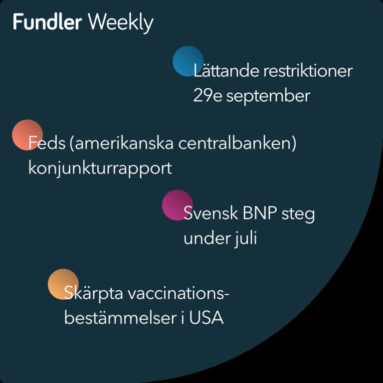 Fundler Weekly Vecka 36